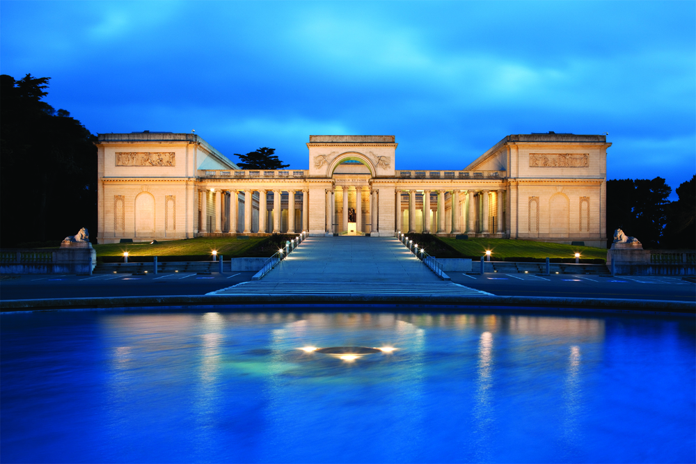 The Legion of Honor is one of the country's finest art museums.