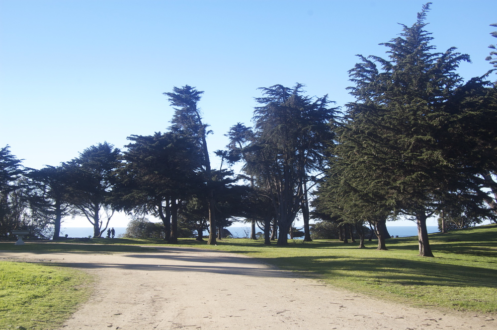 Sutro Heights Park boasts 18 acres of scenic walking trails.