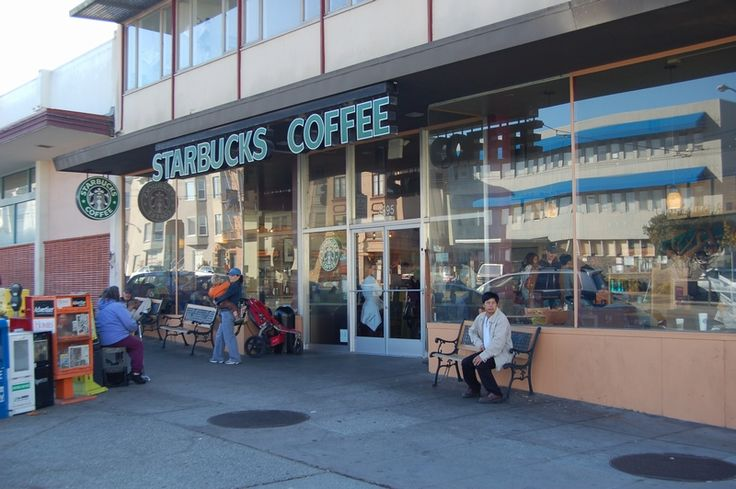 Starbucks Coffee in Laurel Village is open 24 hours, making it a round-the-clock hangout for residents. On the opposite end of the mall is a Peet's Coffee & Tea.