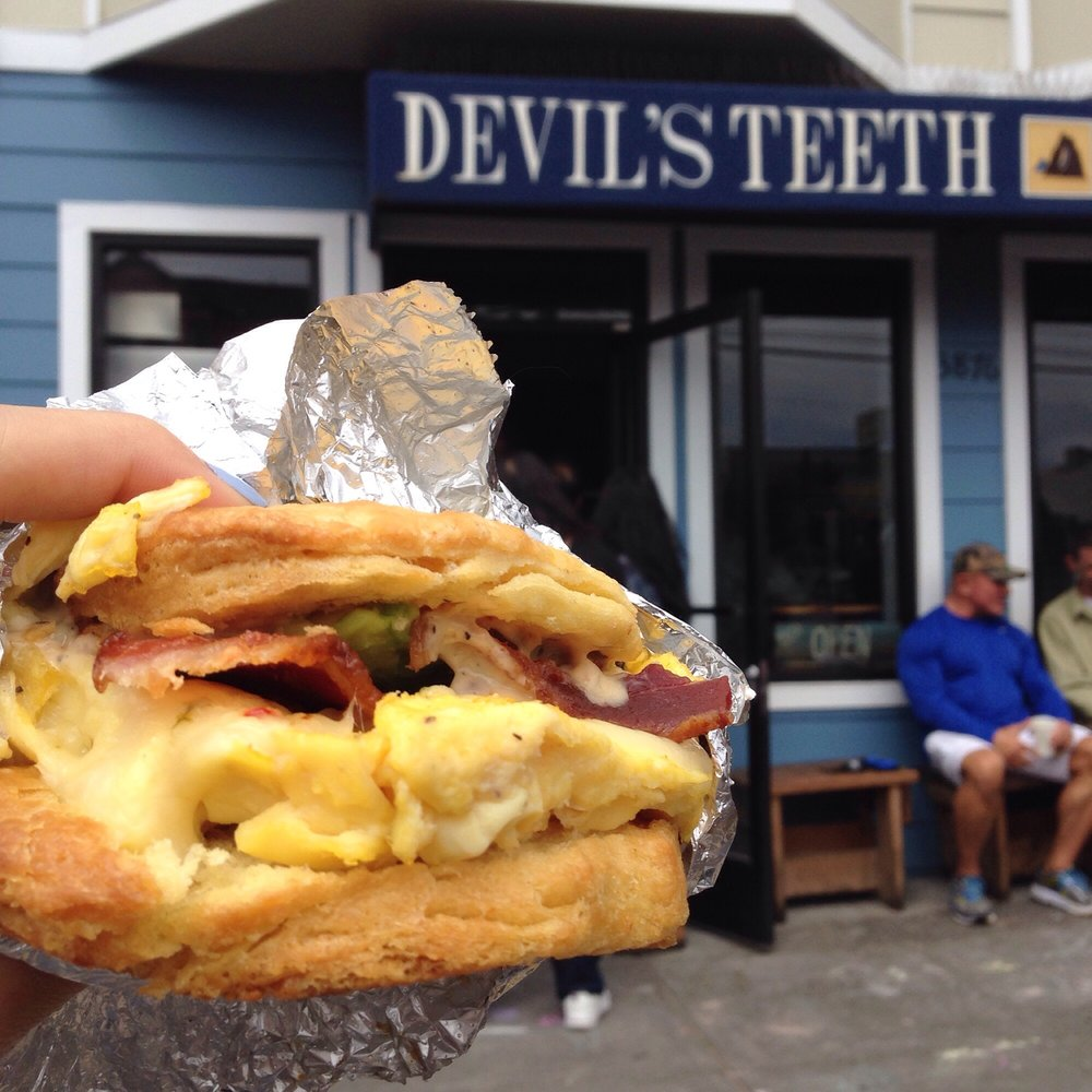 Devil's Teeth Baking Company on Noriega Street churns out sweet breakfast, lunch and dessert.