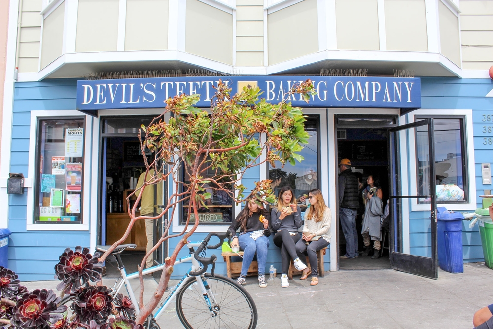 Devil's Teeth Baking Company on Noriega churns out sweet breakfast, lunch and dessert.