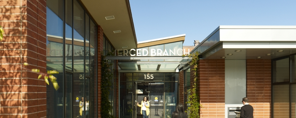 The Merced branch of the San Francisco Public Library on Winston Drive was built in 1957 and underwent a $5.4 million renovation a few years ago.