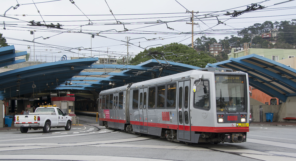 The K-Ingleside MUNI line provides easy access to downtown and other parts of the city.