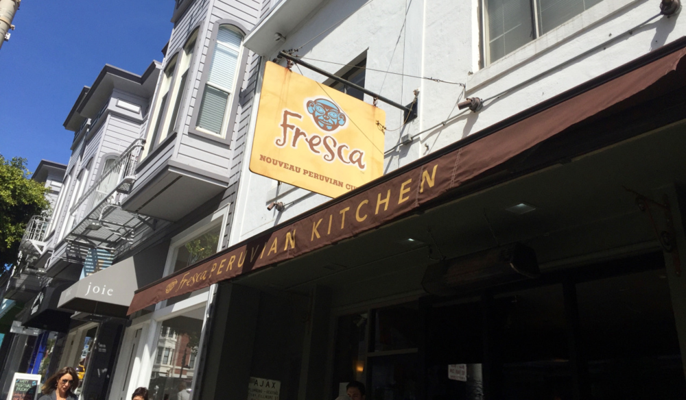 Residents flock to neighborhood favorite Fresca for ceviche and other classic Peruvian fare.