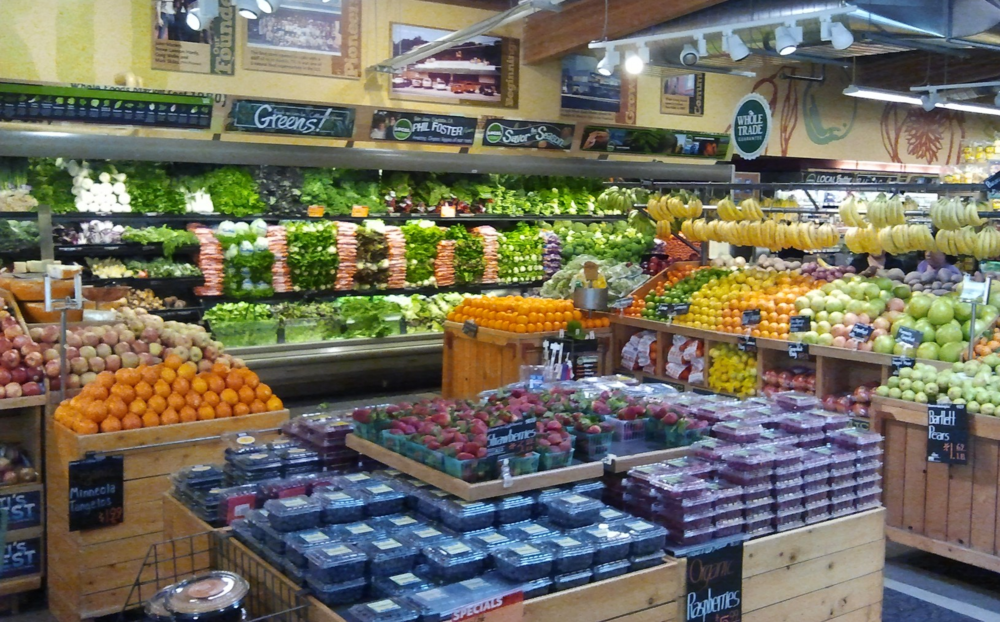 Whole Foods on 24th Street is the perfect place to pick up healthy organic groceries.