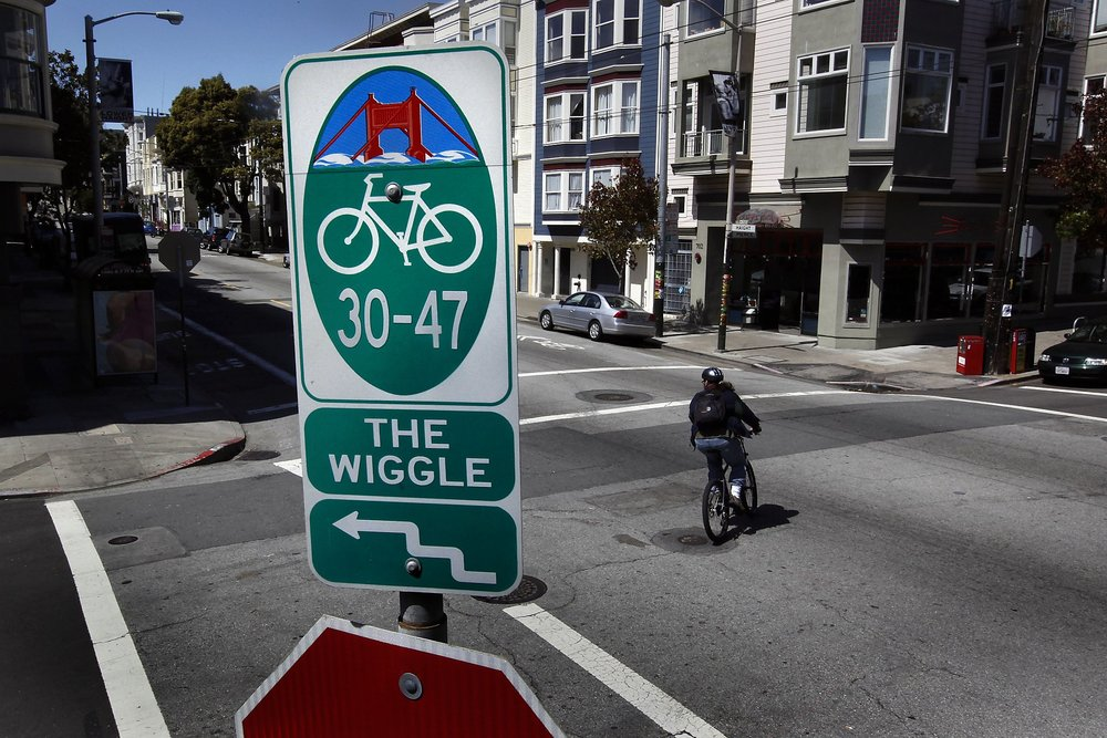 Cyclists benefit from the Wiggle, a one-mile, flat bicycle route that runs through the neighborhood.