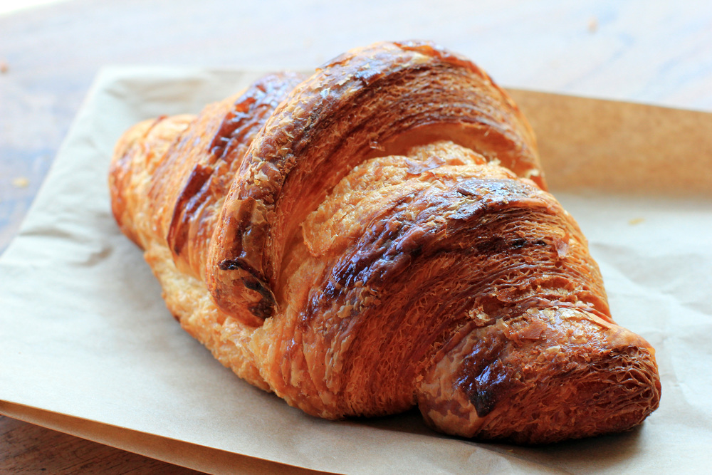 Lines form early in the morning for the chocolate croissants and other freshly baked goodies at Tartine on 18th Street.