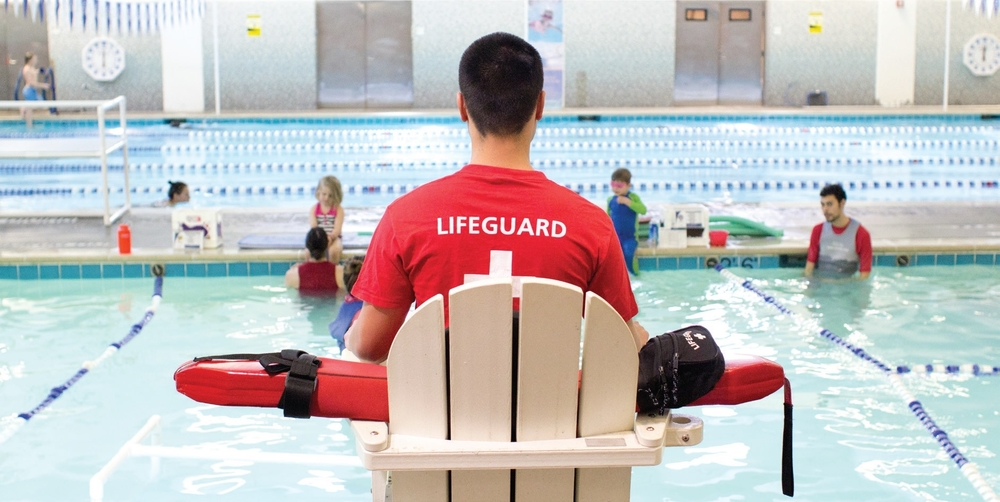 The JCC has a pool and offers a wide variety of classes and events for children and families.