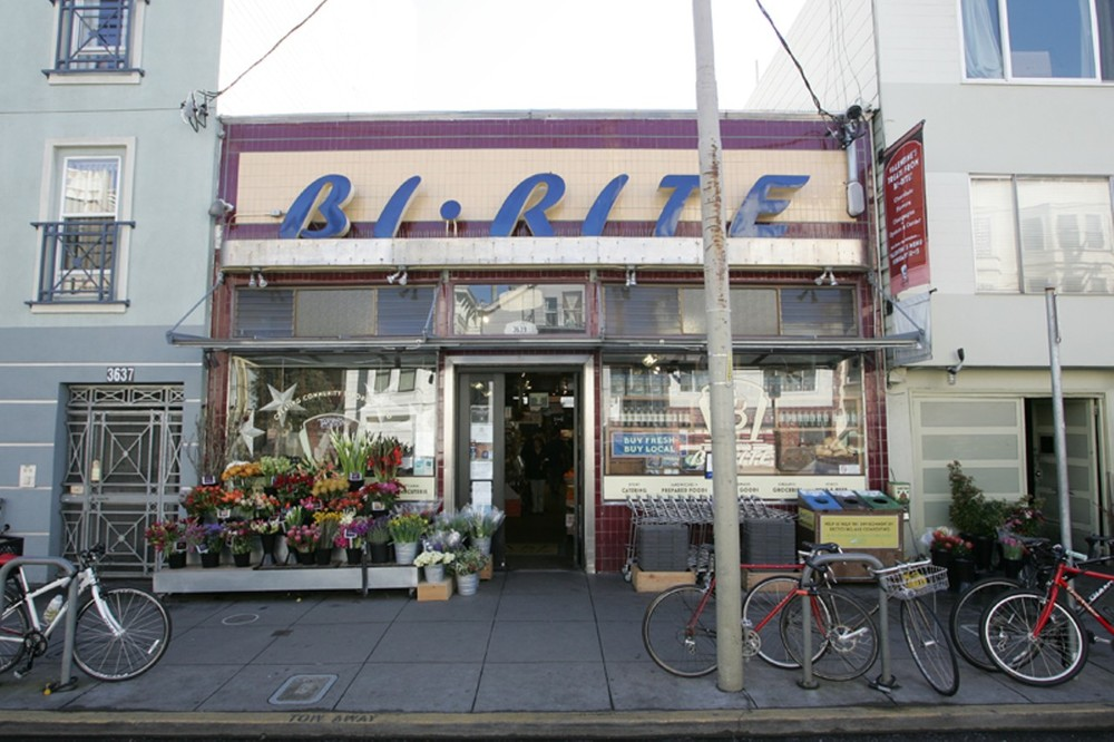Bi-Rite Market specializes in organic, locally sourced food and produce.