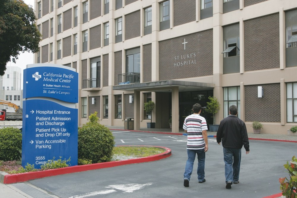CPMC's Pacific Campus Hospital on Buchanan serves residents of Pacific Heights.