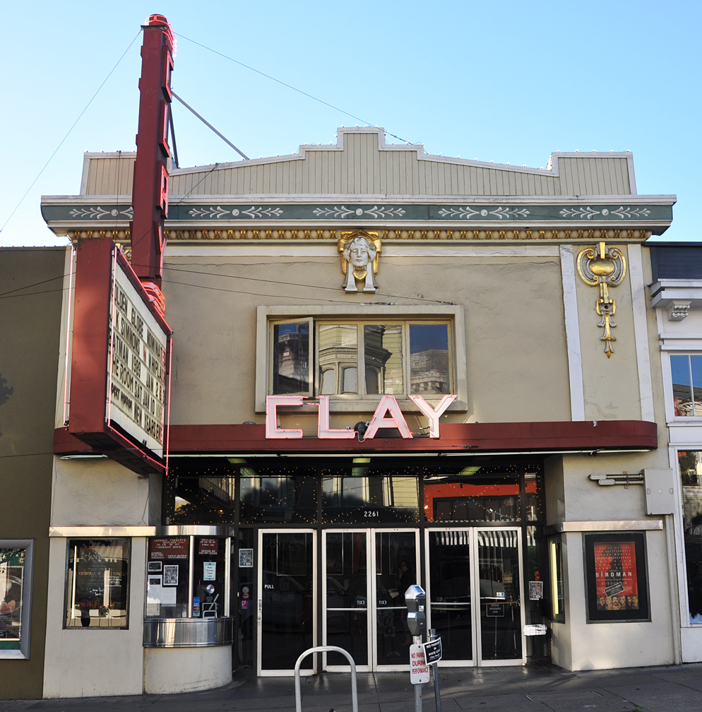 Built in 1910, the art-deco-era Clay Theater on Fillmore Street is one of the oldest movie houses in San Francisco.