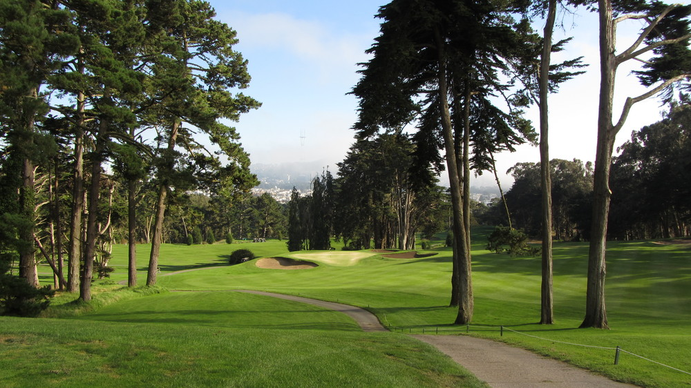 The Presidio Golf Course is renowned for its spectacular forest setting.