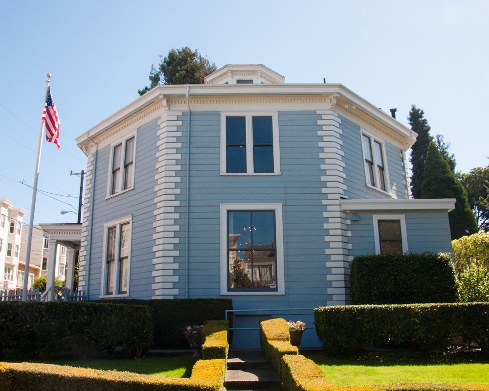 The McElroy Octagon House, also known as the Colonial Dames Octagon House, is an historic building on Gough Street.
