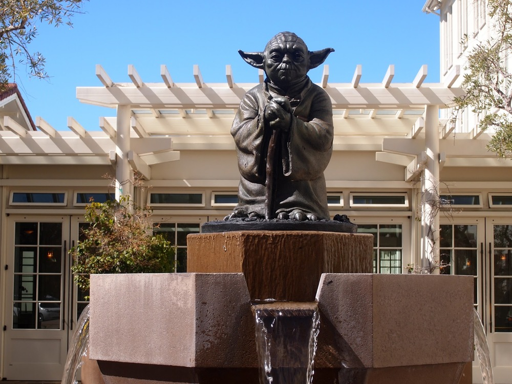 Just inside the Presidio's Lombard Gate, the Letterman Digital Arts Center is a serene 23-acre campus that serves as the headquarters of Lucasfilm. The property includes a public park and an iconic Yoda fountain at its main entrance.