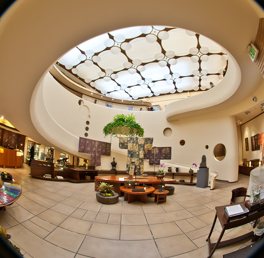 The Xanadu Gallery on Maiden Lane is San Francisco's only Frank Lloyd Wright-designed building.