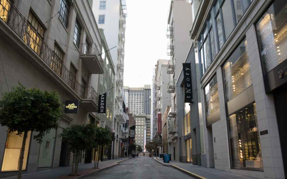 Formerly part of the city's Red Light district, Maiden Lane is now home to high-end boutiques and art galleries.