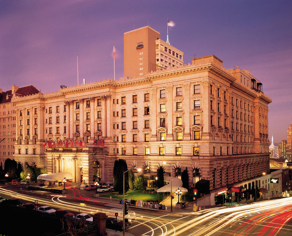 The Fairmont Hotel San Francisco is known for its fine accommodations, dining and nightlife, including the Tonga Room and Hurricane Bar.