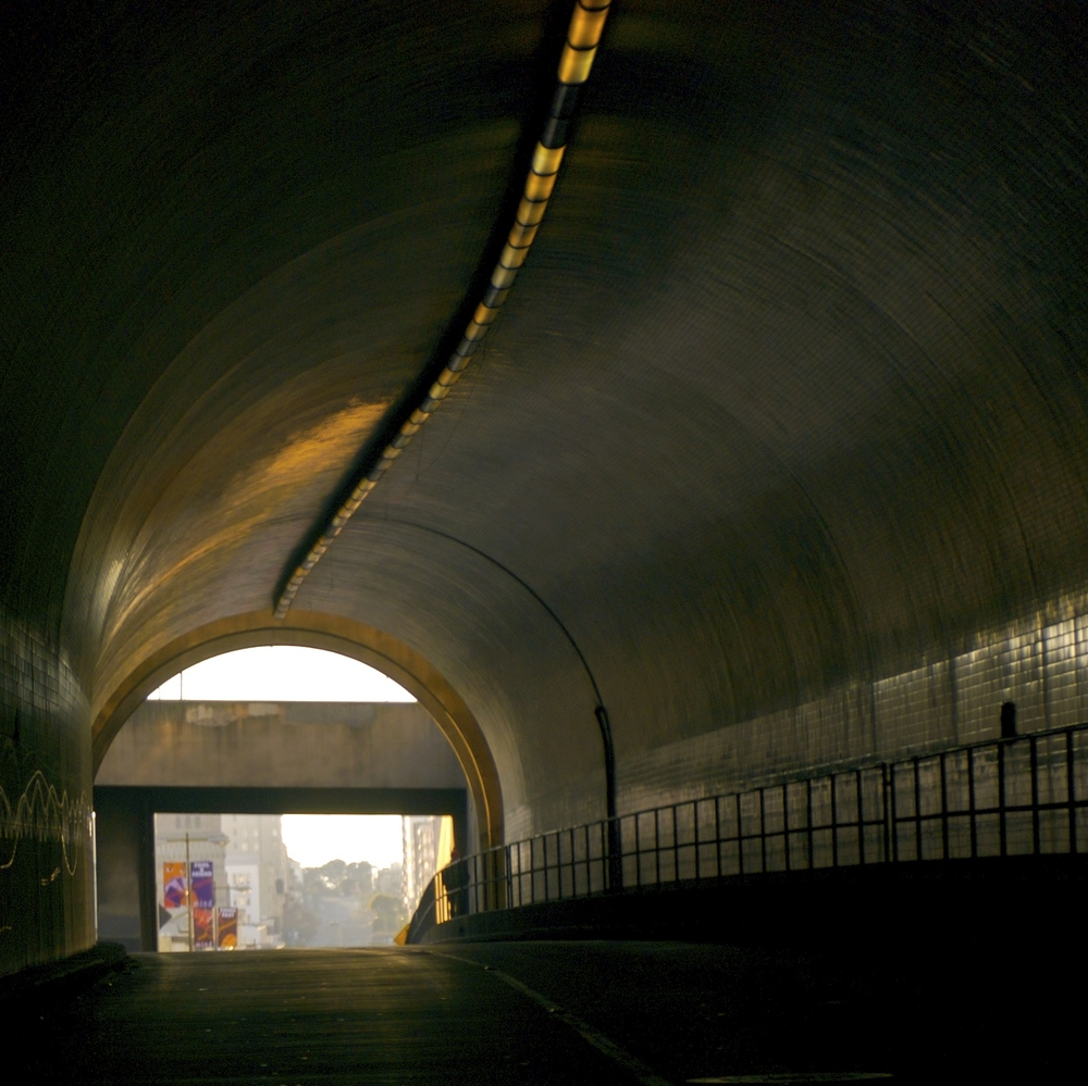 Opened in 1952, the Broadway (Robert C. Levy) tunnel connects Chinatown and North Beach to the east and Russian Hill and Van Ness to the west.