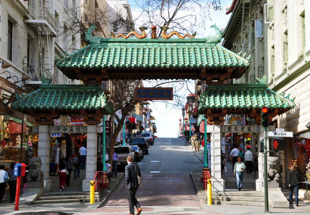 San Francisco's Chinatown is the oldest Chinatown in North America and the largest Chinese community outside Asia.