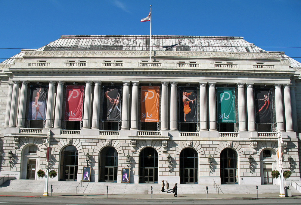 The San Francisco Opera has been performing at the War Memorial Opera House since opening night in 1932.