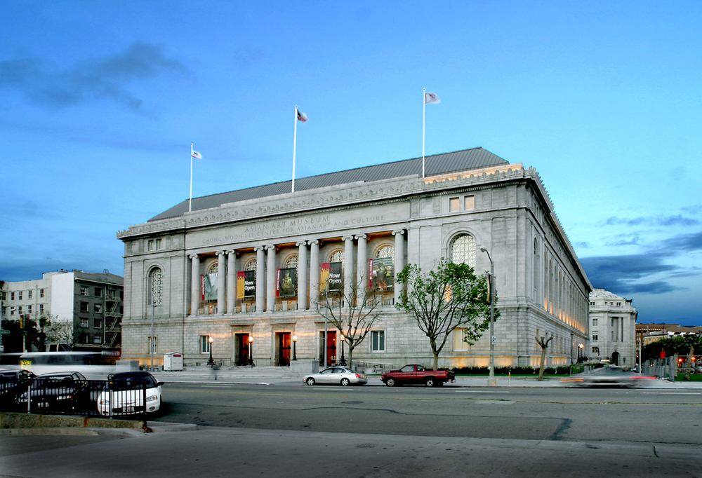 The Asian Art Museum is home to more than 18,000 Asian artworks and artifacts in the former main library opposite City Hall.