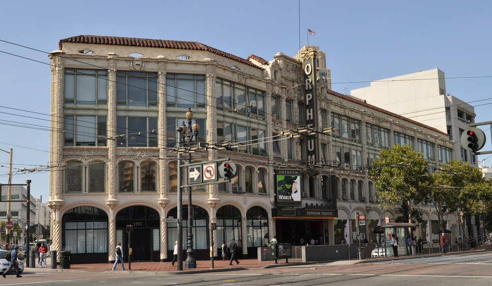 The Orpheum Theater on Market Street produces Broadway-originated shows throughout the year.