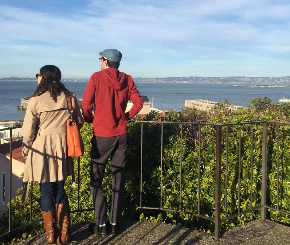 The two-person Jack Early Park features a hidden stairway leading to a quaint lookout point—an idyllic setting for a marriage proposal.