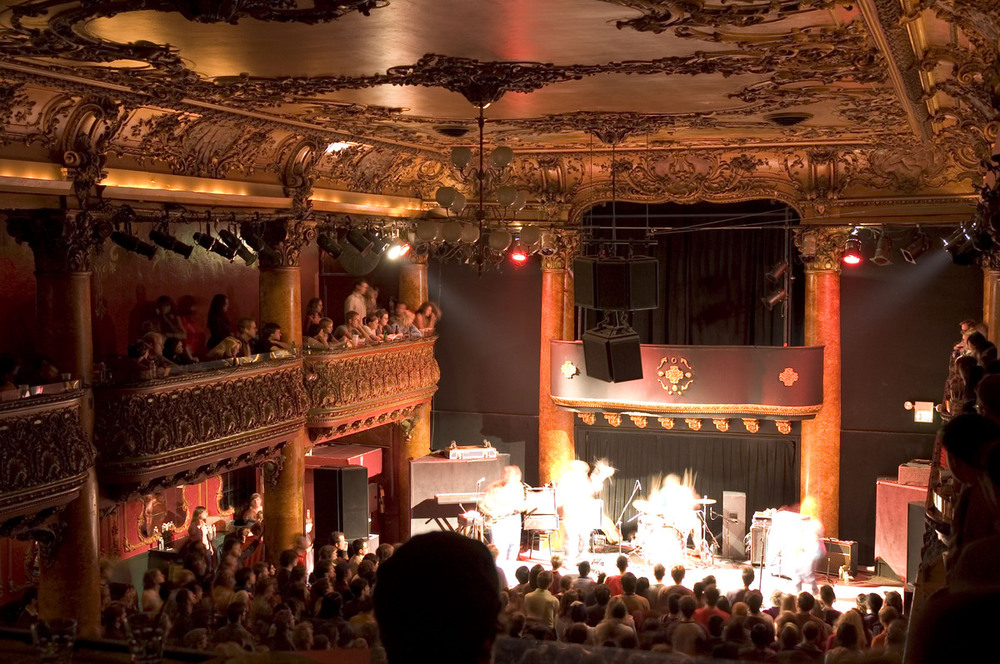 A former bordello built in 1907, Great American Music Hall has long been one of the country's greatest live-music venues.