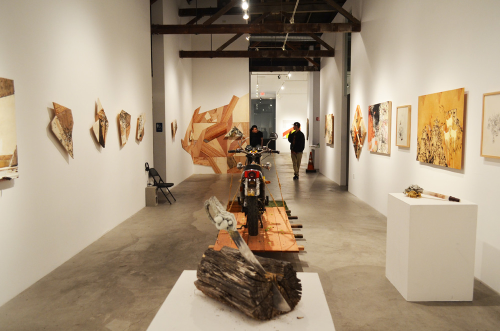 The Shooting Gallery is a high-ceilinged gallery specializing in street art and other modern urban styles.