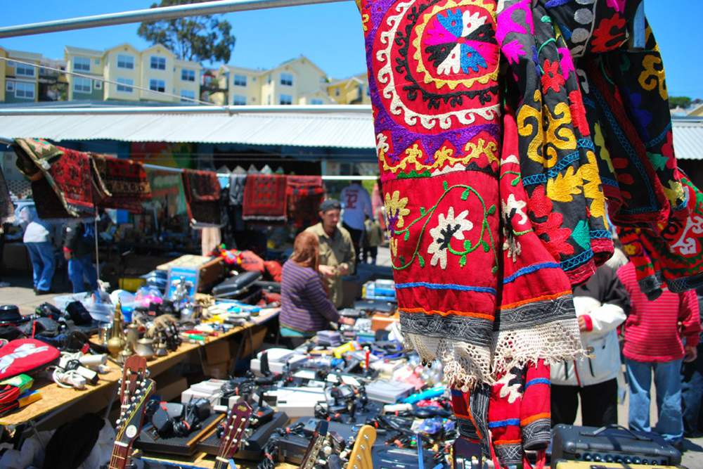 The Alemany Flea Market is a place to discover hidden treasures.