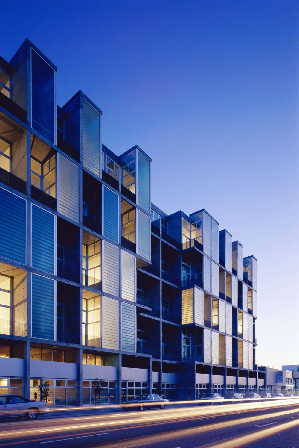 The Stanley Saitowitz-designed Yerba Buena Lofts earned an AIA Design Excellence Award.