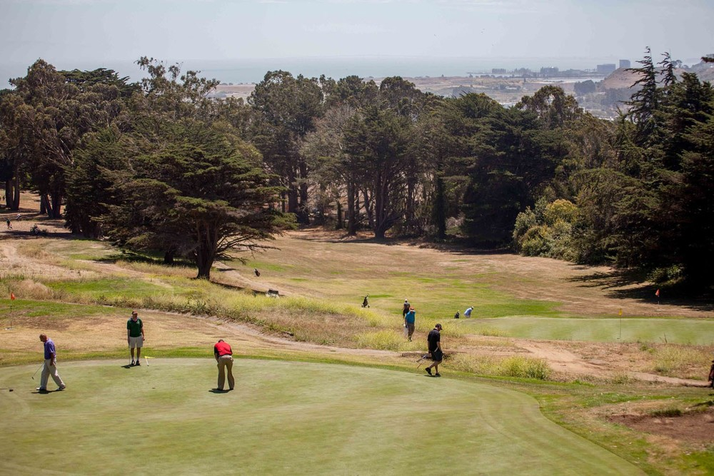 Established in 1962, the Gleneagles Golf Course at McLaren Park is undergoing an elaborate renovation.