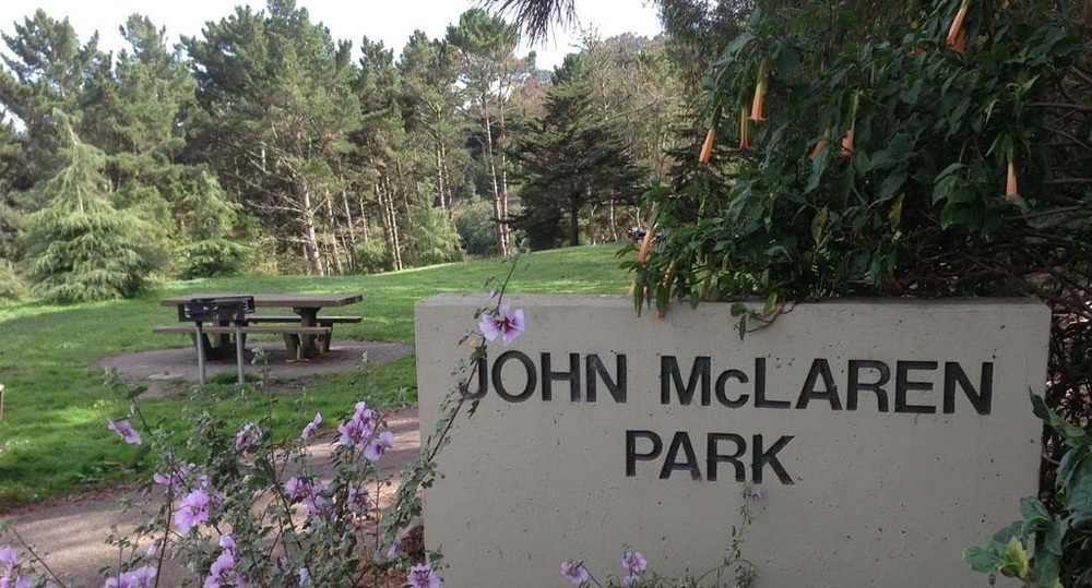 San Francisco's second largest park after Golden Gate, John McLaren Park has a golf course, two lakes, jogging and hiking trails, an amphitheater, public pool, and an old reservoir now used as a dog swimming area.