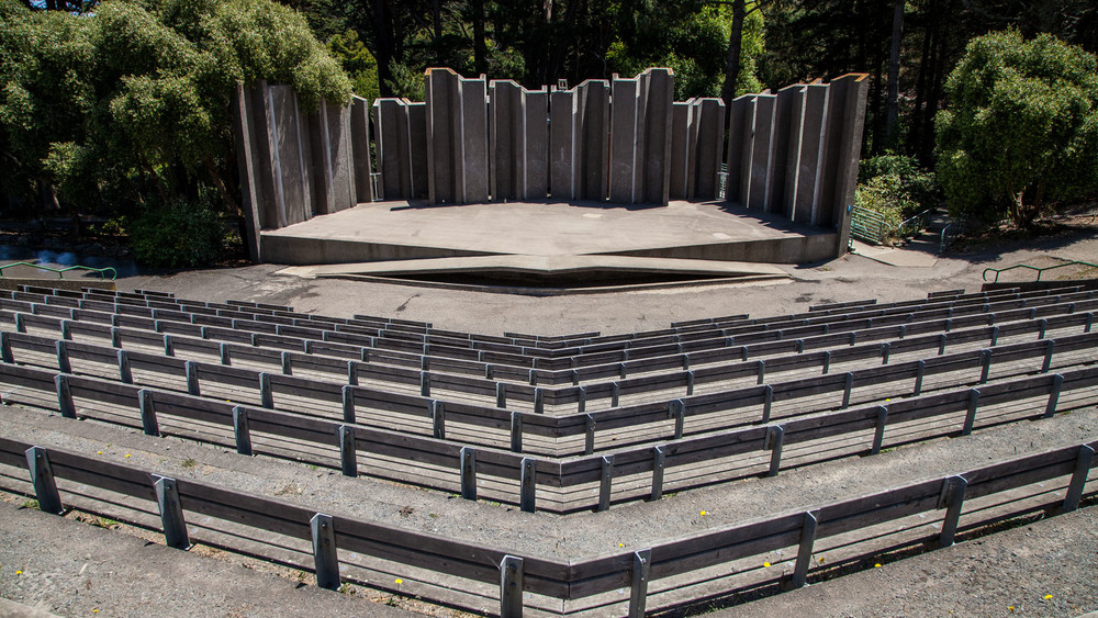Located within John McLaren Park, the Greek-style Jerry Garcia Amphitheater is known for its outstanding acoustics.