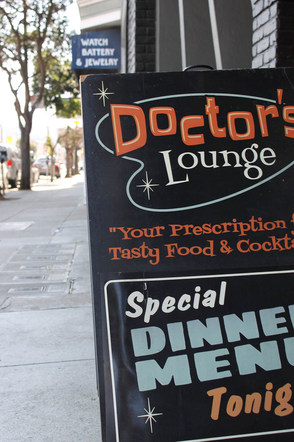 The Doctor's Remedy Brunch at Doctor's Lounge is a great cure for too much partying the night before.