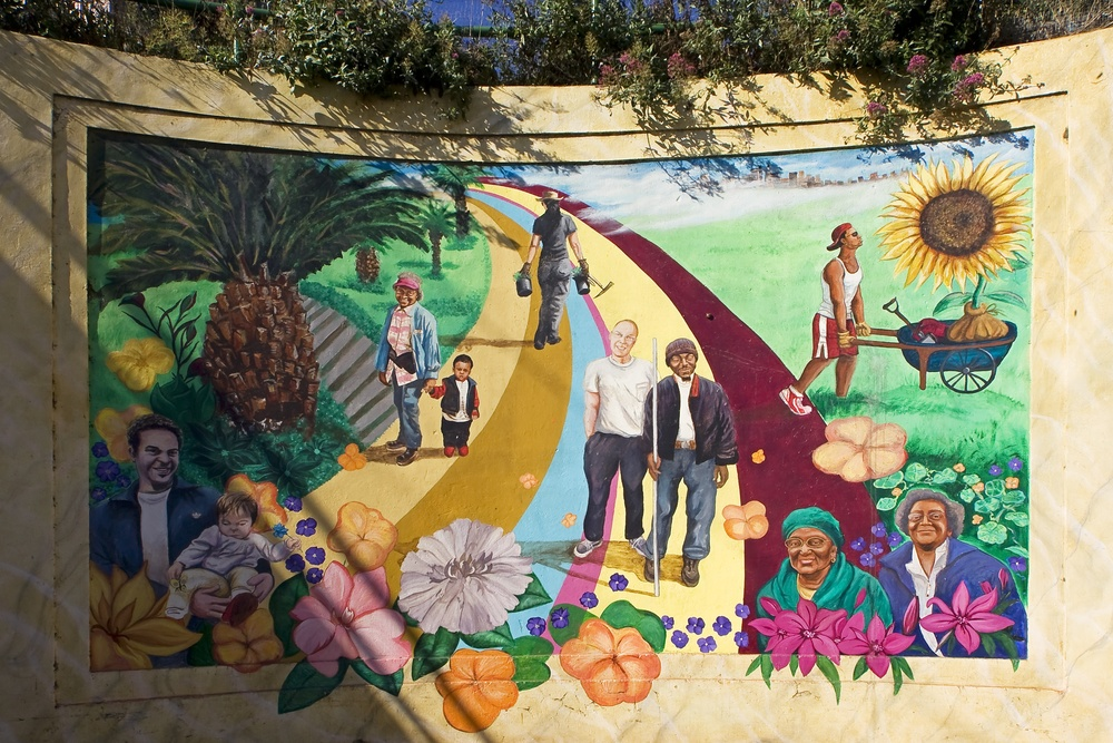 The Quesada Gardens Initiative is an award-winning community project that has spawned a network of gardens, public art, and gathering spaces.