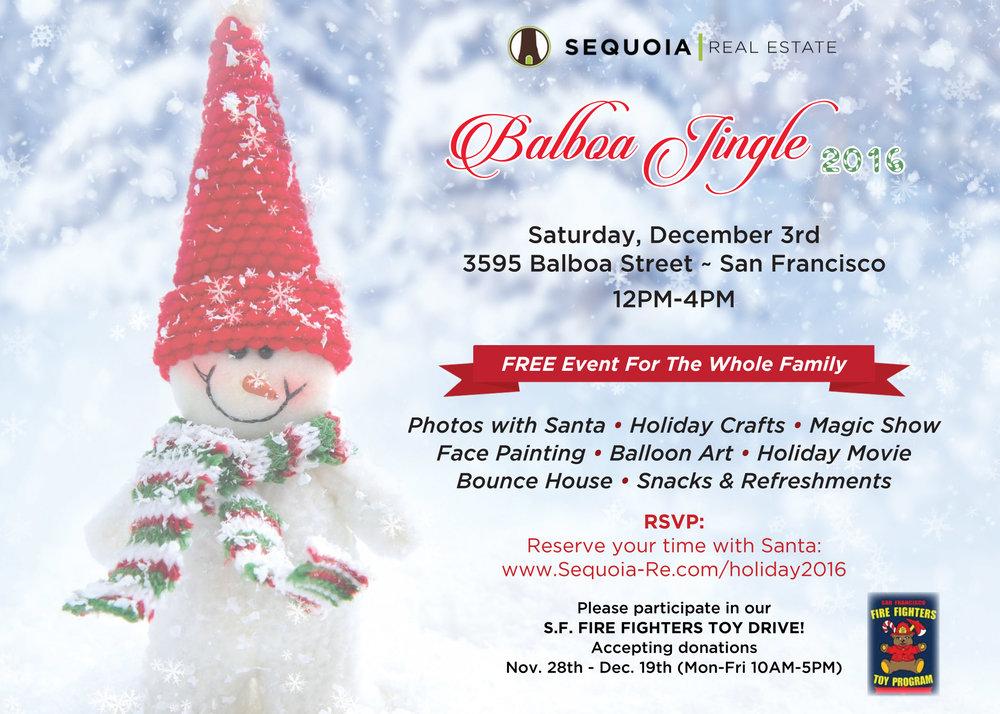 Sequoia Real Estate Holiday Kickoff 2016