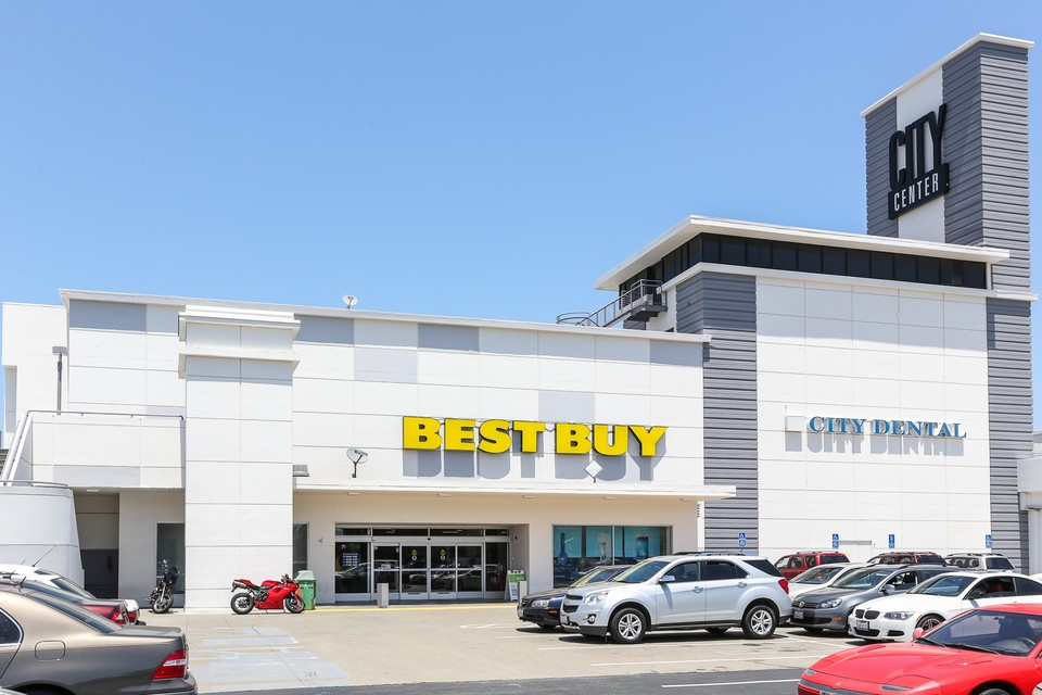 For shoppers, the neighborhood offers a handful of chain stores including Best Buy.