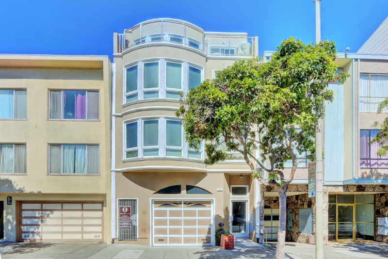 Sold at $691,850<strong>565 Arguello Street #1, San Francisco</strong>