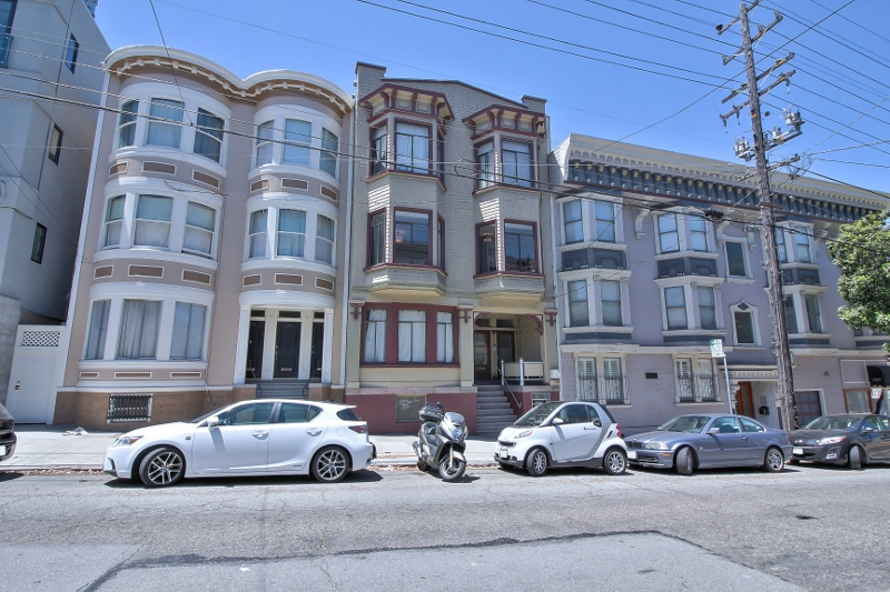 Sold at $2,300,888.88<strong>1739-1743 Larkin Street, San Francisco</strong>