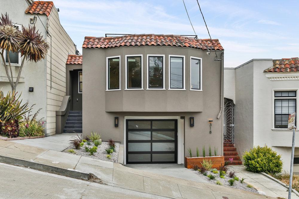 Sold at $2,400,000<strong>318 Ridgewood Avenue, San Francisco</strong>