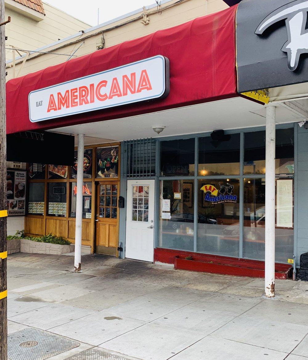 Eat Americana, San Francisco