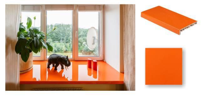 оранж, глянцевый\матовый