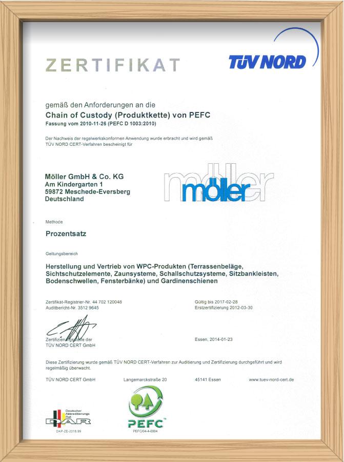 Zertifikat-PEFC