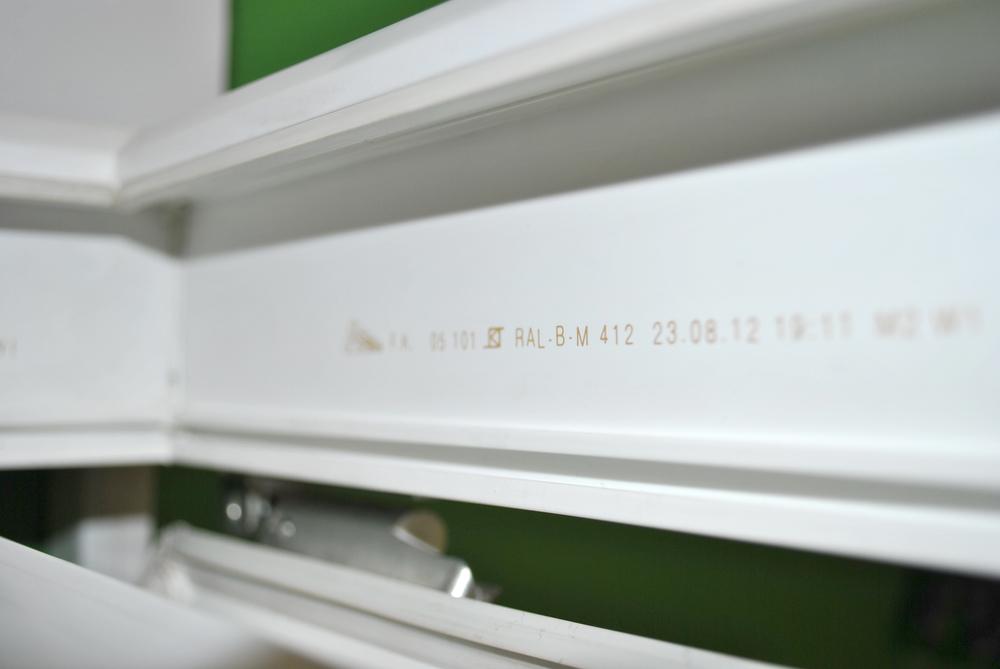 Защитная лазерная гравировка на профильной системе FUNKE K S   HELIOS  70 (Германия)