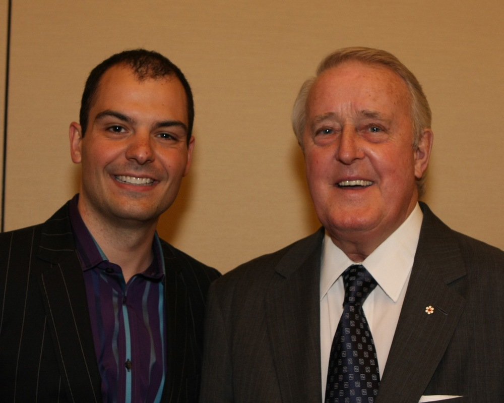 Former Canadian Prime Minister Brian Mulroney