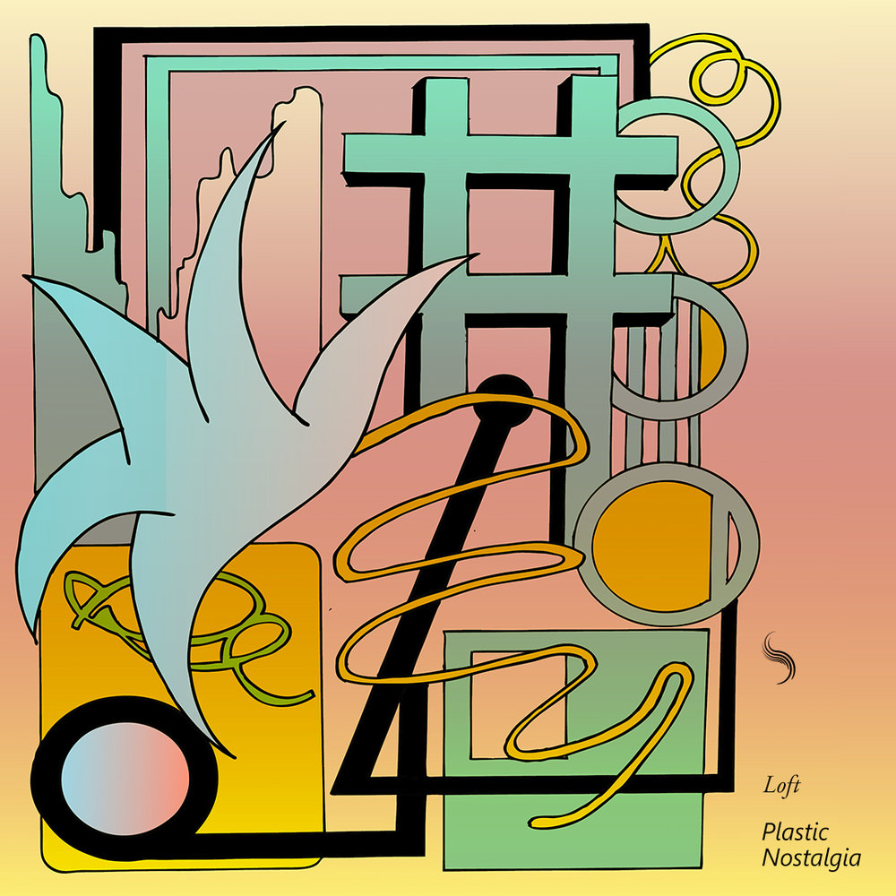 Our seventeenth release comes from Loft out of Victoria, BC. He follows up his Feb 2015 release, Deep Rest, with a colourful, lofi instrumental EP. The project contains fuzzy soundscapes, whimsical themes, and peaceful airiness showcasing Loft's ability to create a fun world splattered in ear pleasing synths and moody arpeggiations. Plastic Nostalgia represents a time, place, and an escape.