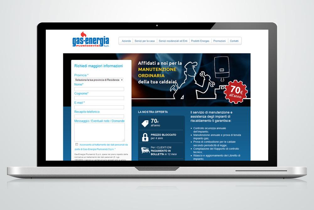 Landing page - GasEnergia