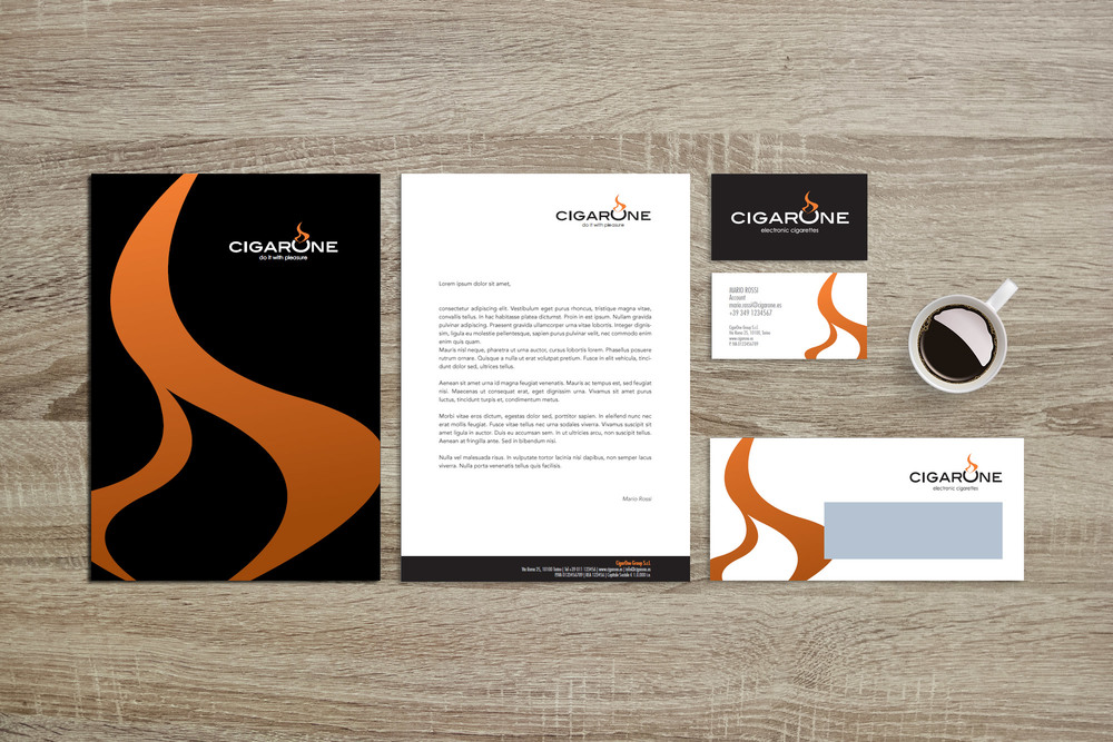 CORPORATE BRANDING: CigarOne
