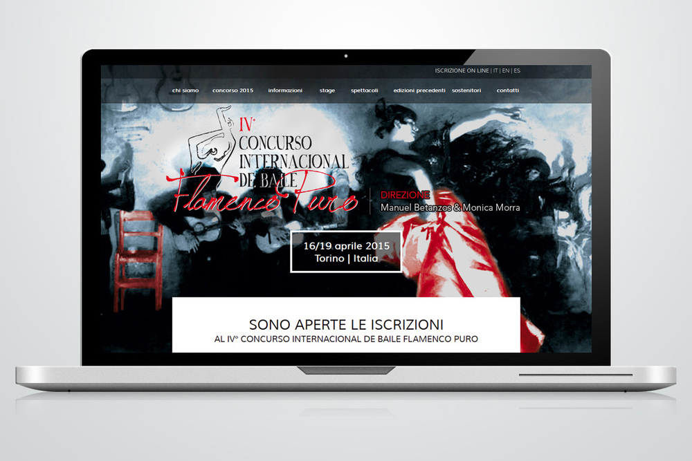 Website - Concurso Flamenco Puro